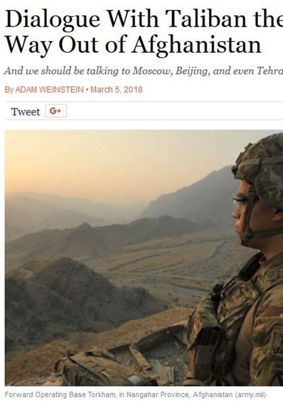 تنها راه پایان جنگ در افغانستان از نگاه یک اندیشکده آمریکایی و تاکید بر شکست سیاستهای واشنگتن