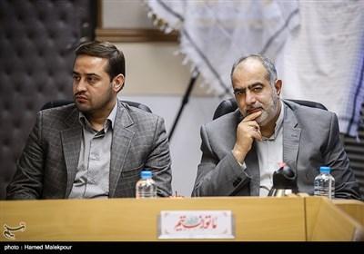 حسامالدین آشنا مشاور فرهنگی رئیس جمهور در جلسه شورای سیاستگذاری راهیان نور کشور