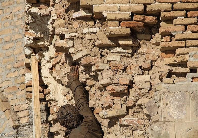 اهواز  اثر تاریخی خانه فیروزهای دزفول تخریب شد