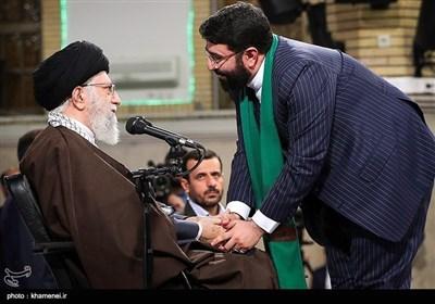 امام خامنہ ای سے ذاکرین اہل بیت اور شعرائے کرام کی ملاقات