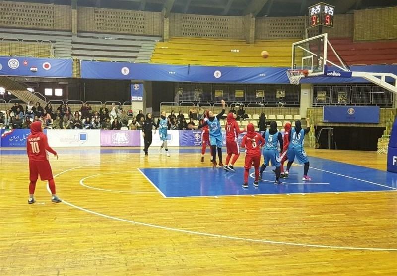 لیگ برتر بسکتبال بانوان| پیروزی سپهرداد تهران در وقت اضافه و شکست سنگین آویزه
