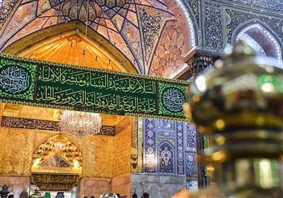 شادی میلاد حضرت زهرا(س) در کربلای معلی و نجف اشرف+تصاویر