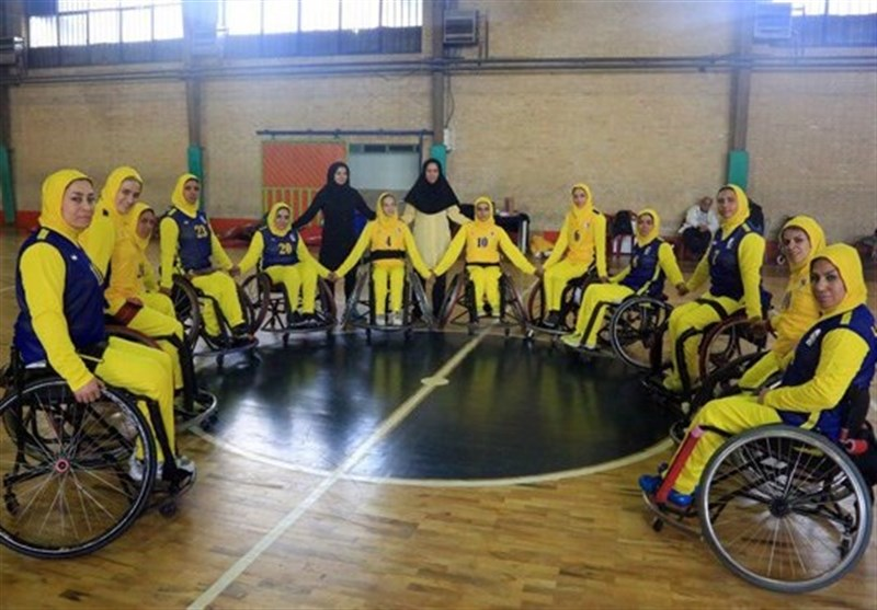 Iran Women's Wheelchair Basketball Wins Gold at Asian Para Games Qualifiers