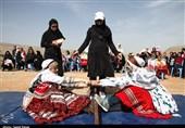 خراسان شمالی| جشنواره بازیهای بومی با لباسهای محلی برگزار شد+تصاویر