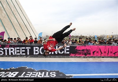 Bounce Street Contest Held in Iranian Capital