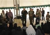 خوزستان| کاروان در مسیر عرشیان به یادمان شهدای هویزه رسید
