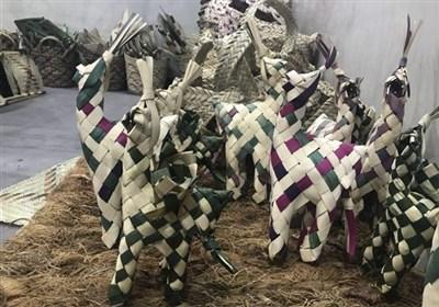 نبوغ صنایع دستی در شترهای حصیری با دو کاربرد جالب