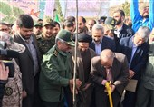 Basij Forces Ready to Assist in Planting Trees: IRGC Chief