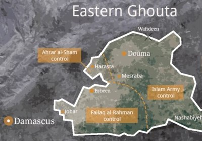 آزاد شدن شهرهای سقبا و کفربطنا توسط ارتش سوریه