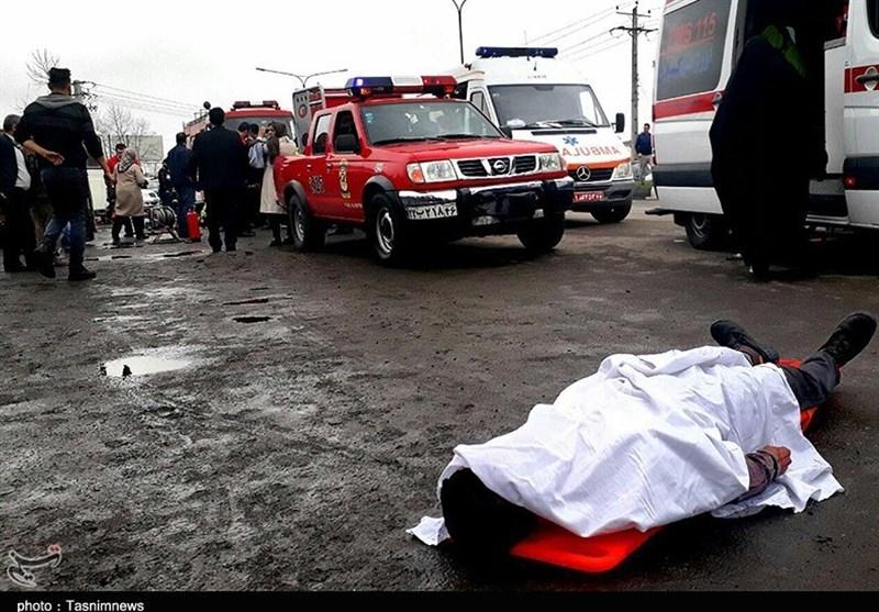 تصادف در مسیر ایلام - مهران 3 کشته و زخمی برجای گذاشت