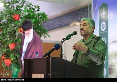 سخنرانی سرلشکر محمدعلی جعفری فرمانده کل سپاه پاسداران در مراسم هفته درختکاری سپاه