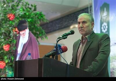 سخنرانی خلیل آقایی رئیس سازمان جنگل ها، مراتع و آبخیزداری کشور در مراسم هفته درختکاری سپاه