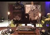 """مراسم یادبود کوچ """"لوون هفتوان"""" پشت دیوار چهارم+ویدئو"""