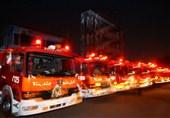 استقرار 251 آتشنشان در 99 نقطه تهران در شبهای قدر