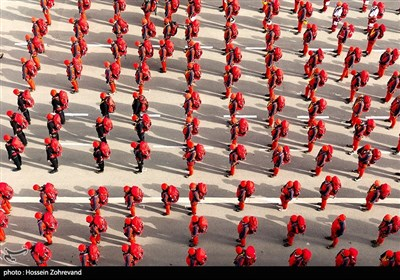 Iranian Red Crescent Holds Drill ahead of New Iranian Year