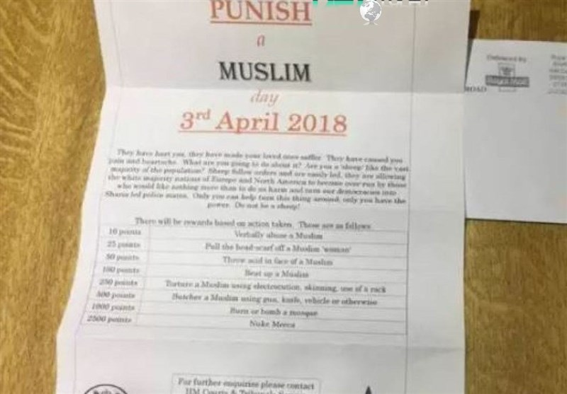 UK Police Investigate 'Punish A Muslim' Day Letters