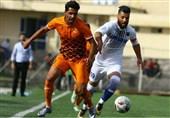 لیگ دسته اول فوتبال|شکست نفت در سیرجان و پیروزی نساجی/ فجر، راهآهن را 7 تایی کرد و موقتاً به رده دوم رسید