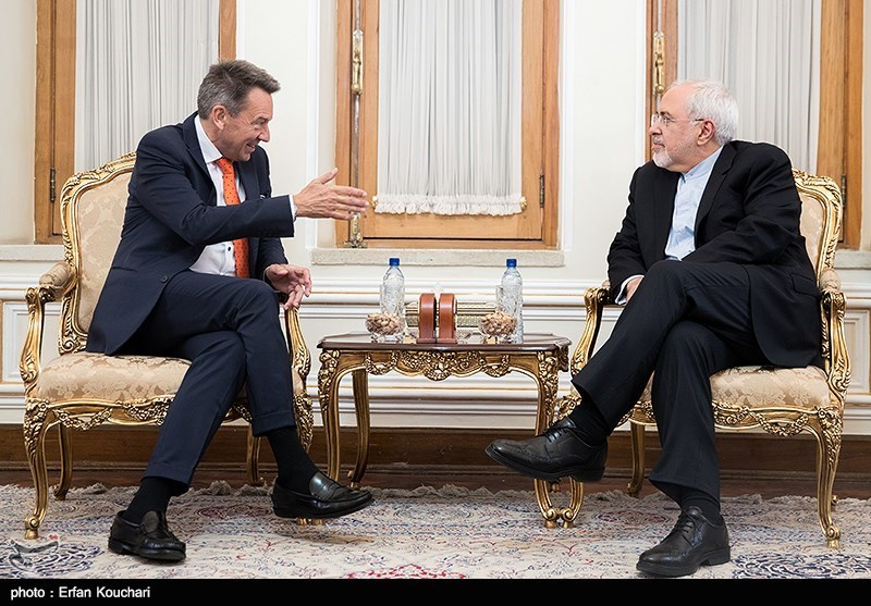 Iranian FM, ICRC Chief Discuss Regional Crises