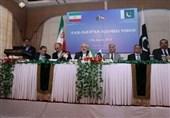 حضور ظریف در نشست مشترک تجاری تهران-اسلام آباد با حضور همتای پاکستانی