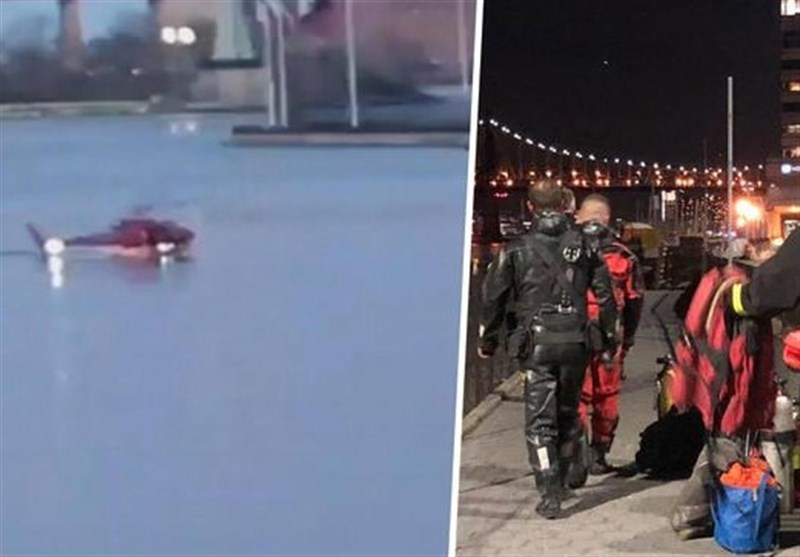 2 Killed, 4 Survive after Helicopter Crashes into New York City's East River
