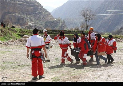 Iranian Rescuers Recover Bodies from Turkish Jet Crash Site