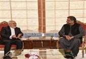 رایزنی ظریف با نخست وزیر پاکستان درباره تحولات منطقهای