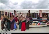 بالصور.. سوق بندر ترکمان شمال شرق ایران