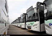 رشت| جابهجایی مسافران نوروزی با 176 دستگاه اتوبوس در استان گیلان