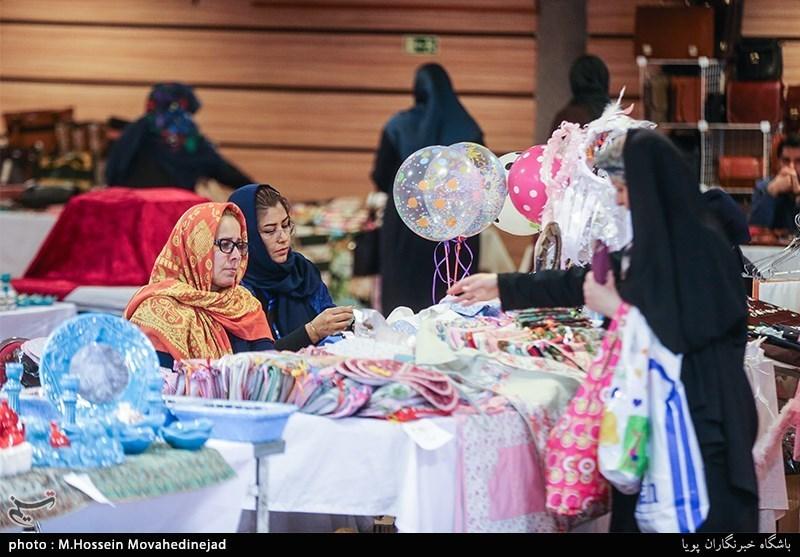 برگزاری سیزدهمین نمایشگاه زنان و تولید ملی در بوستان گفتگو