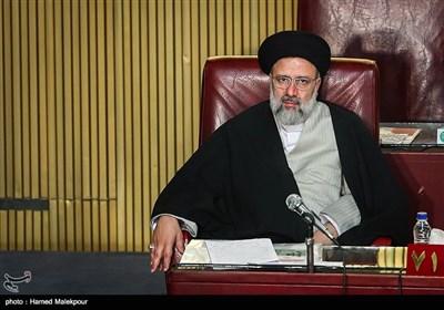 حجتالاسلام سیدابراهیم رئیسی در مراسم افتتاحیه چهارمین اجلاسیه دوره پنجم مجلس خبرگان رهبری