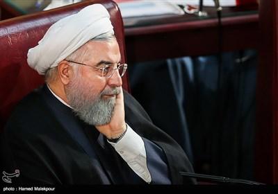 حجتالاسلام حسن روحانی رئیس جمهور در مراسم افتتاحیه چهارمین اجلاسیه دوره پنجم مجلس خبرگان رهبری