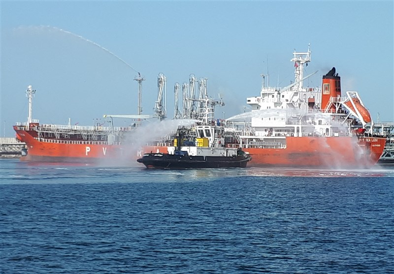 بوشهر|مانور امداد و نجات دریایی در عسلویه برگزار شد+تصاویر