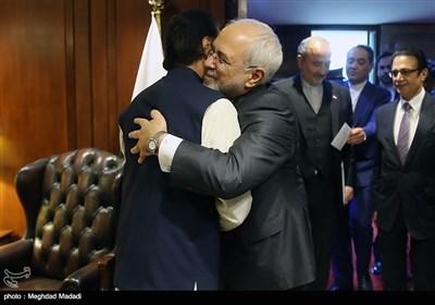 محمد جواد ظریف کی اسپیکر پارلیمنٹ ایاز صادق سے ملاقات