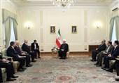 روحانی: ایران و آذربایجان میتوانند به شاهراهی برای اتصال آسیا و آفریقا به شمال اروپا تبدیل شوند