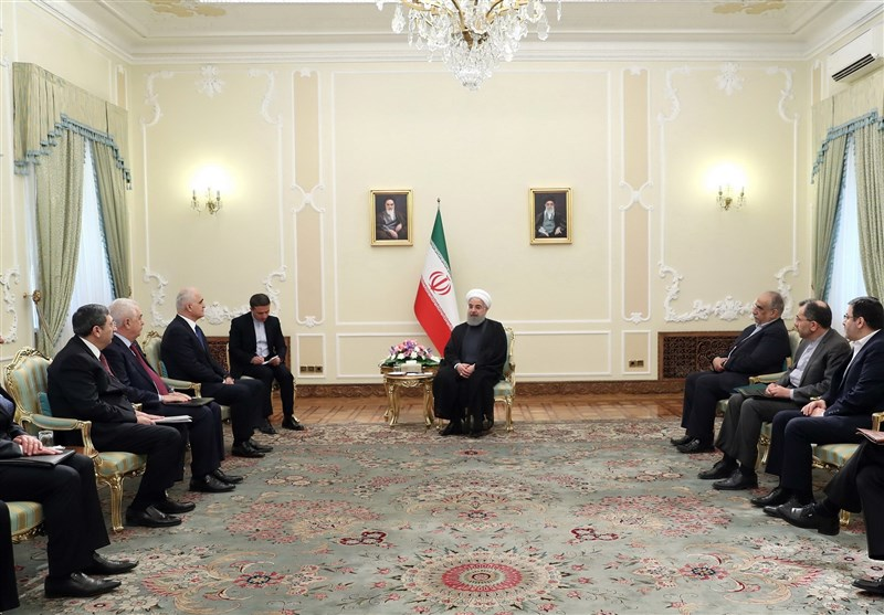 Iran, Azerbaijan Can Connect Asia, Africa to Northern Europe: President
