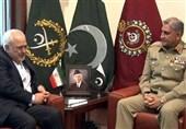 ایرانی وزیر خارجہ کی پاک فوج کے سربراہ سے ملاقات، اہم امور پر تبادلہ خیال