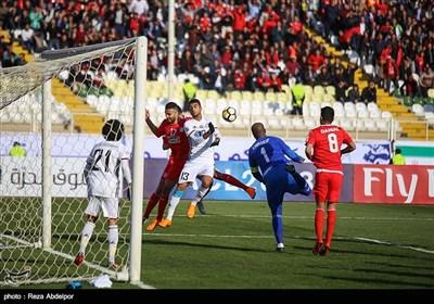 دیدار تیمهای فوتبال تراکتورسازی و الجزیره امارات