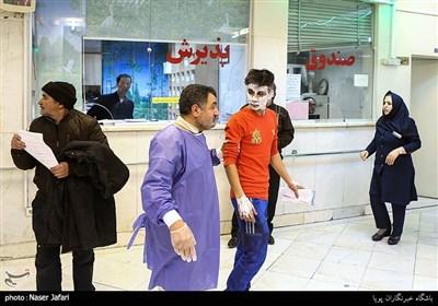 مصدومین چهارشنبه آخرسال در بیمارستان شهید مطهری