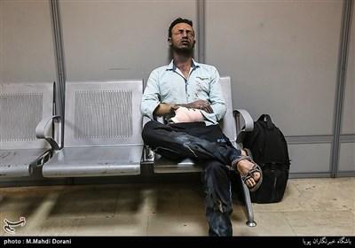 مصدومین چهارشنبه آخرسال در بیمارستان فارابی