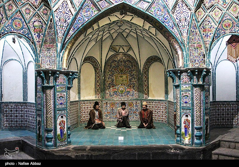 Four Season Bathhouse Largest In Iran