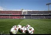 بازدید مسئولان باشگاه پرسپولیس از ورزشگاه آزادی