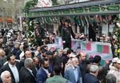 تهران| تشییع 15 شهید گمنام در شهریار + تصاویر