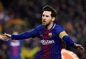 لیگ قهرمانان اروپا  بارسلونا با صدمین گل مسی قاطعانه صعود کرد