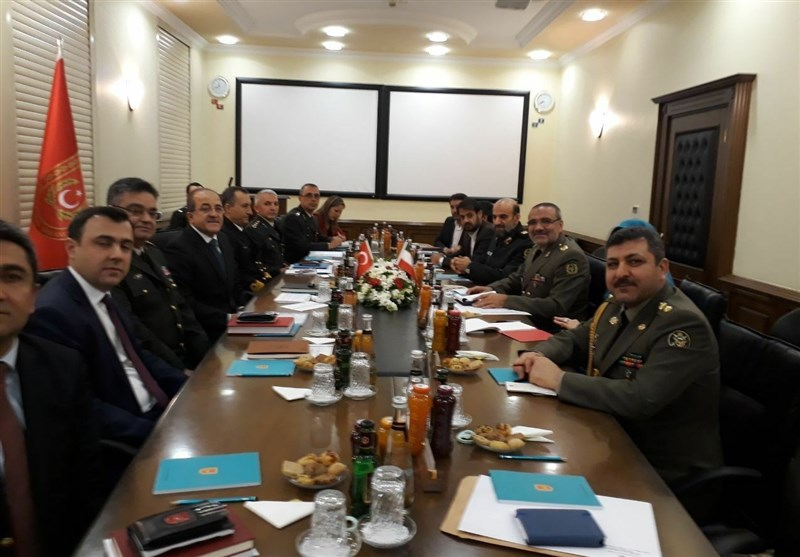 Iranian Military Team Visits Turkey