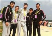 دوی صحرانوردی قهرمانی آسیا  دو برنز تیمهای بزرگسالان و جوانان ایران