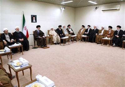 رئیس و اعضای مجلس خبرگان رهبری با امام خامنه ای دیدار کردند
