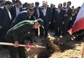 جنگل کاری 180 هکتاری بانک مهر اقتصاد در استان خوزستان