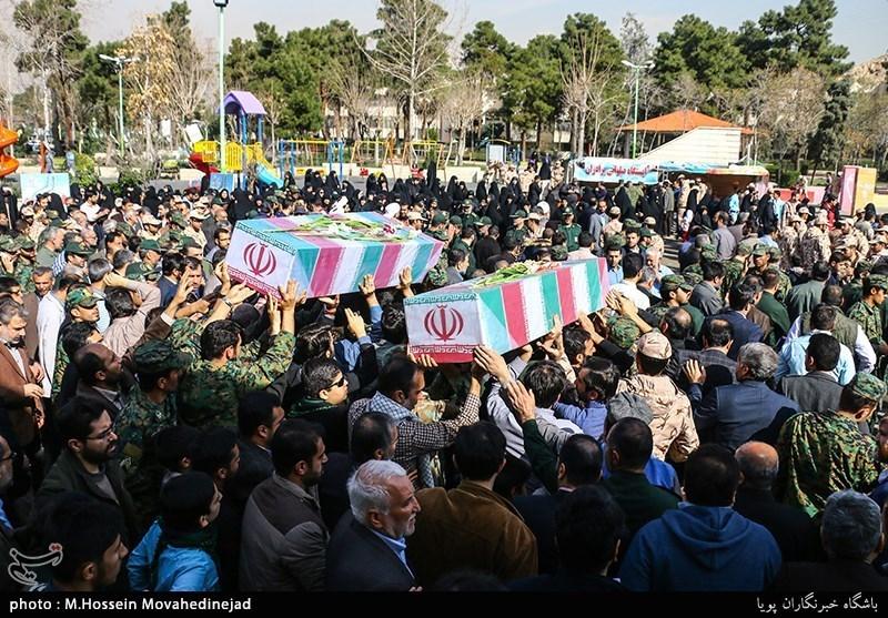 خوزستان| استقبال از دو شهید گمنام در دزفول