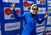 بانوی قهرمان سهگانه کشور: ثابت کردیم با حجاب اسلامی هم میتوان مسابقه داد و قهرمان شد