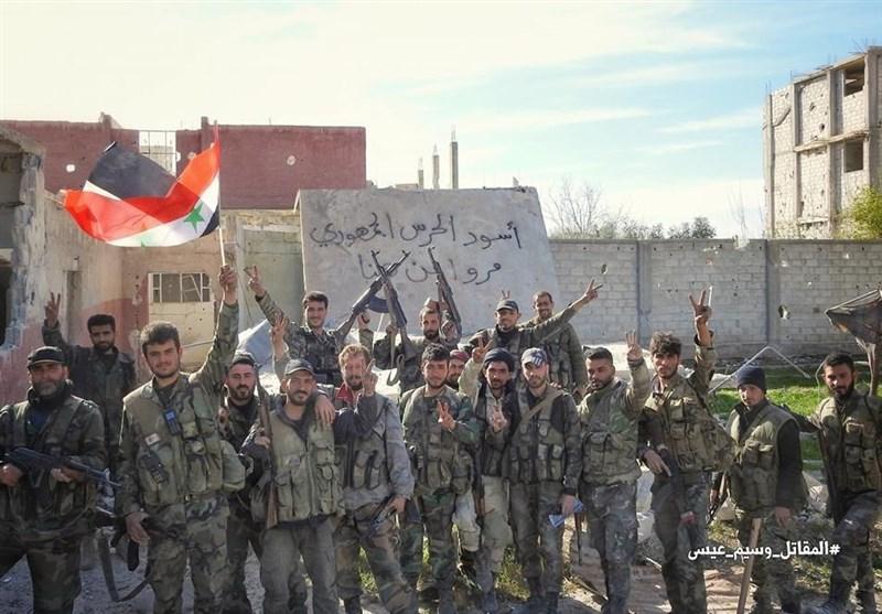 تحولات سوریه| ادامه عملیات گسترده ارتش در غوطه و آخرین دست و پا زدنهای تروریستهای تکفیری